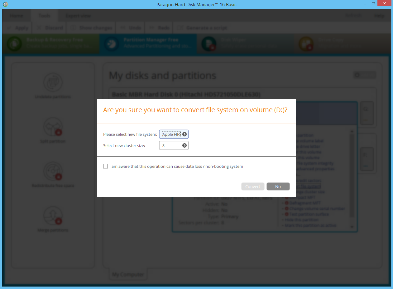 Paragon Partition Manager Free | Paragon Software